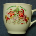 「クリスマスペコちゃんプリン」2003 マグカップ