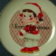 「クリスマスペコちゃんプリン」2005 ソーサー
