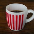ヘーゼルアトラス レッドストライプ マグカップ