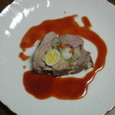 豚肉のうずら卵包み蒸し