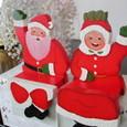 サンタ爺さんとサンタ婆さん
